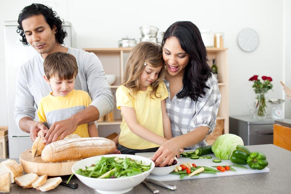 hábitos simples de alimentação
