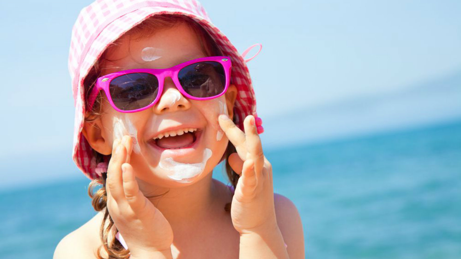 protetor solar para crianças